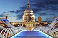 Londýn Millenium bridge